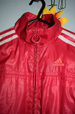 adidas girls deep pink jacket vintage?