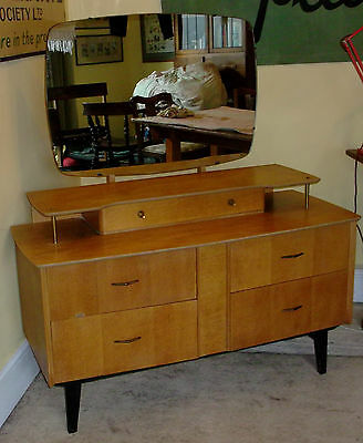 Vintage 1960's Dressing Table Retro