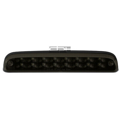 Fit 99-16 Ford Super Duty 2-Row LED Rear Third 3rd Tail Brake Light Lamp Tinted