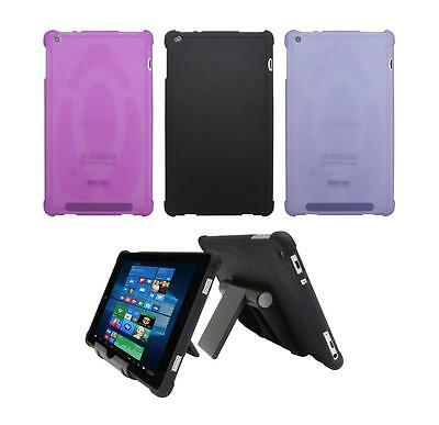 "TPU Case + Adjustable Stand  for Nuvision 8"" (TM800W610L) Windows 10 Tablet 2017"