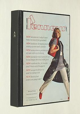 Penneys 1971 Catalog Spring & Summer J C Penney Co. Hardcover