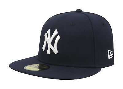 New Era 59Fifty MLB Cap New York Yankees 2017 AC OnField Game Navy Blue Hat