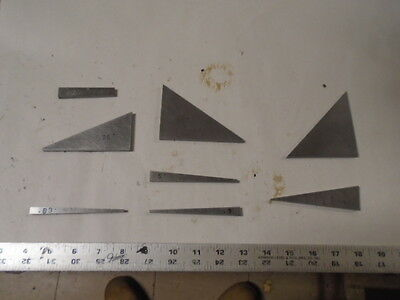 MACHINIST LATHE TOOL MILL Machinist Lot Various Angle Blocks for Set Up /