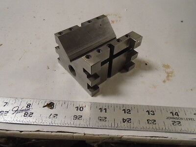 MACHINIST LATHE TOOL MILL Machinist NICE Ground Tool Makers V Block for Set Up