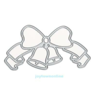 Bell Shape Cutting Dies Stencil for DIY Scrapbooking Embossing Album Card Decor