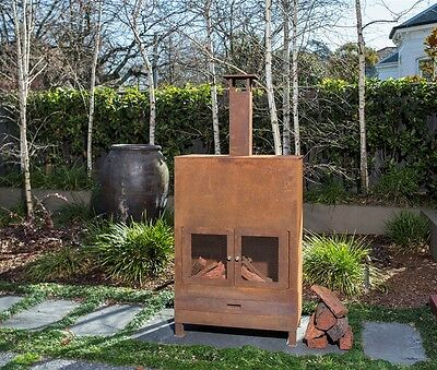 NEW Excalibur Outdoor Rusted-Look Alfresco Heater Fireplace