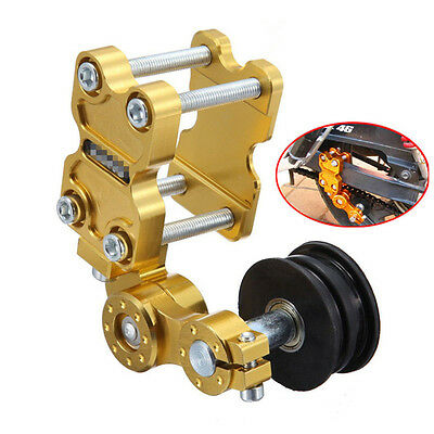 2017 Golden Aluminum Chain Tensioner Bolt on Roller Motorcycle Tool For Suzuki