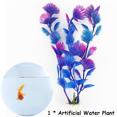 Artificial Plastic Water Plant for Fish Tank Aquarium Decoration Decor Ornament