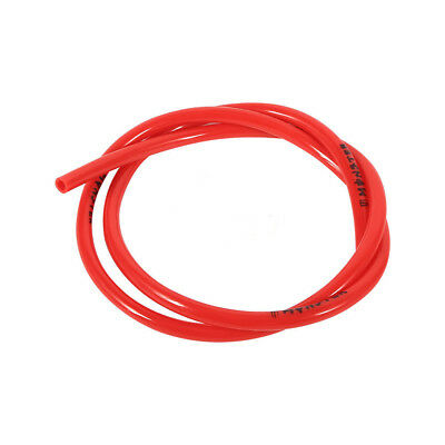 Motorcycle Dirt Pits Bike Red Rubber Gas Oil Hose Fuel Line Petrol Tube Pipe 1M