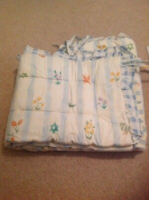 Jessica Brookes Cot Bumper Suitable For Boy Or Girl, Matching Bedding Available