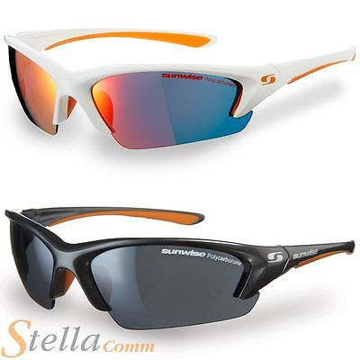 Sunwise EQUINOX Interchangeable Lens Sport Sunglasses Cycling Running Triathlon