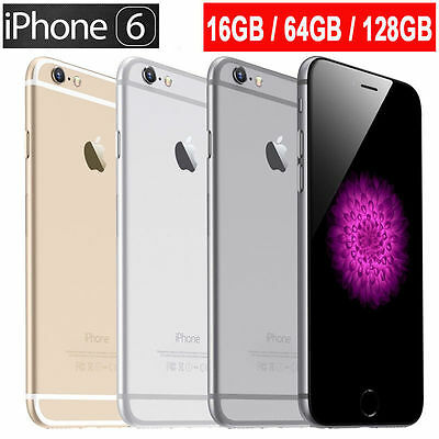 Apple iPhone 6 Plus Space Grau Gold Silber 64GB 128GB sehr guter Zustand Aktion!