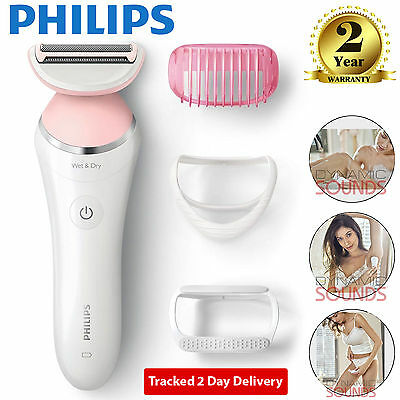 Philips SatinShave Advanced Wet Dry Electric Lady Shaver Hair Removal BRL140/00