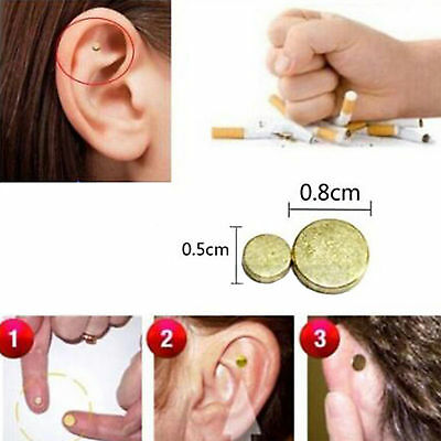 New Quit Smoking Acupressure Healthy Care Auricular Magnet Therapy Zero Smoke