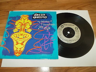 "Dream warriors-My definition-7"" single 1990"