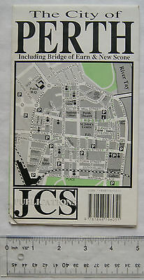 JCS The City of Perth Map, including Bridge of Earn & New Scone