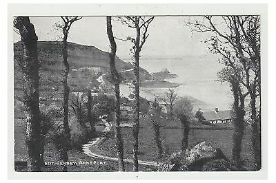 Jersey postcard - Jersey, Anne Port