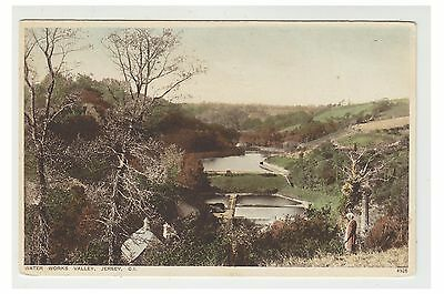 Jersey postcard - Water Works Valley, Jersey