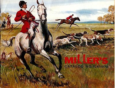 1972 Miller's Catalog No. 104 Miller Harness Co. New York City meac12