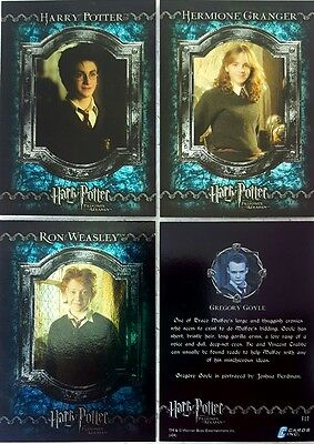 HARRY POTTER and THE PRISONER of AZKABAN Trading Card FOIL Set of 17 CARDSINC UK