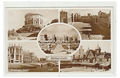 Berkshire postcard - Windsor Castle - Multiview