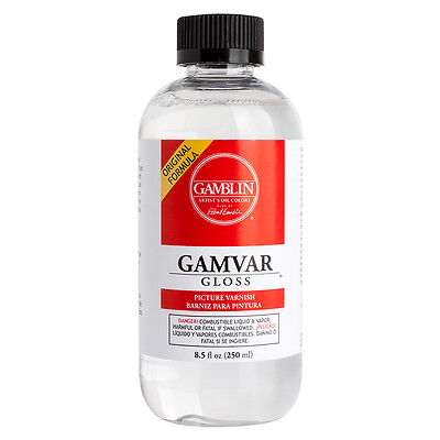 Gamblin : Gamvar Picture Varnish : Gloss : 250ml : By Road Parcel Only