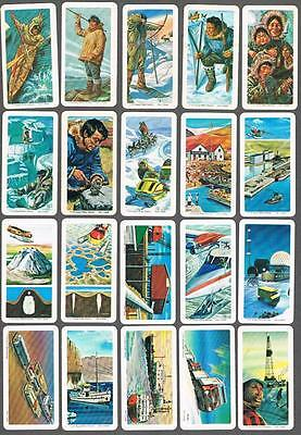 1973 Brooke Bond The Arctic Trading Cards Complete Set of 48