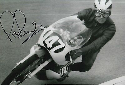 Phil Read Hand Signed 12x8 Photo Isle of Man TT, MOTOGP 4.