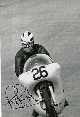 Phil Read Hand Signed 12x8 Photo Isle of Man TT, MOTOGP 9.