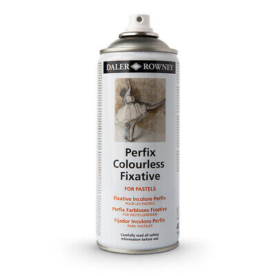 Daler Rowney : Perfix : Colourless Fixative Spray : 400ml