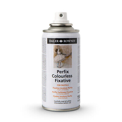 Daler Rowney : Perfix : Colourless Fixative Spray : 150ml : Road Shipping Only
