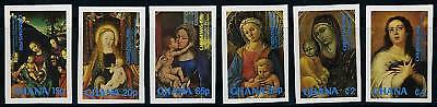 Ghana Christmas 1981  Imperforated  Mint Nh