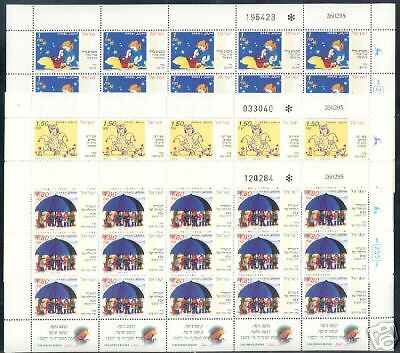 Israel Sheet Scott# 1238/40, Children's Books, Mint Nh