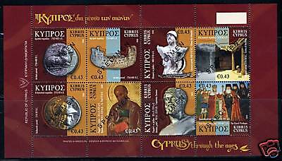 Cyprus Through The Ages Artiacts Specimen Sheet