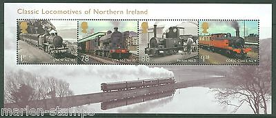 Great Britain 2013  Classic Locomotives Of Northern Ireland S/sheet Mint Nh