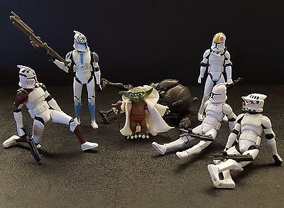 Star Wars The Clone Wars CG Animated Army Builder Choose a Figure Accessory Lot