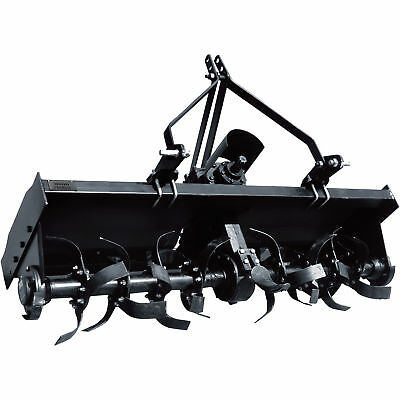 NorTrac 3-Pt. PTO Rotary Tiller - 71in.W, Category 1