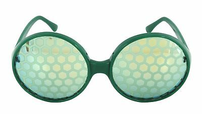 Green Bug Eye Glasses Costume Accessory Adult One Size
