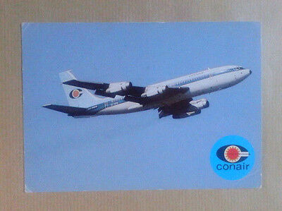 Airline-Issued Postcard / Conair / Boeing 720-025B