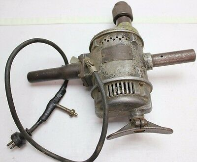 Vintage USA made speedway no 1366 electric drill Electric Magnetic Tool Co works