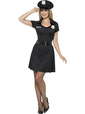 Special Constable Costume Cops & Robbers Police Woman Fancy Dress Outfit