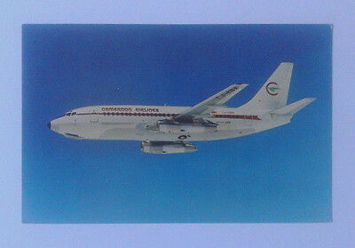 Airline-Issued Postcard / Cameroon Airlines / Boeing 737-200