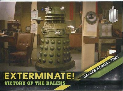 Doctor Who Timeless Daleks Across Time Exterminate Chase Card #7
