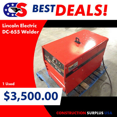 Lincoln Electric DC-655 Welder
