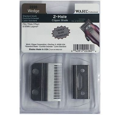 Wahl Professional Wedge 2 Hole Clipper Blade #2228