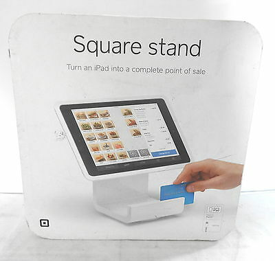 Square Stand for iPad Air Lightning Connector, A-SKU-0020 with Card Reader USED