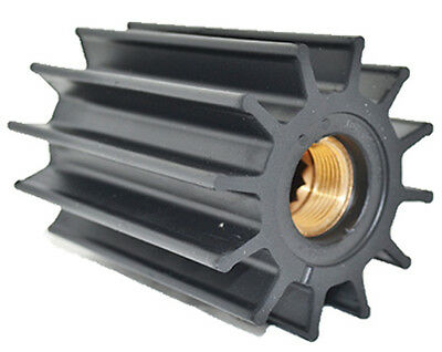 """JOHNSON PUMP REPLACEMENT IMPELLERS, NEOPRENE-For F95 Pump, 11 Blade, 3.74""""OD, 5."""