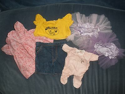 Clothes for Plush Belle Toy of Snoopy/Peanuts Fame