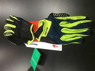 Specialized XC Lite WireTap Full Finger Cycling Mountain Bike Gloves Men's M