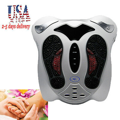 Electromagnetic Massager Blood Booster Circulation Foot Massager 【US 2-7 Days】